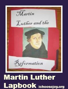 Martin Luther and the Reformation Unit Study