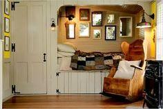 Cozy Country Bed Nook.