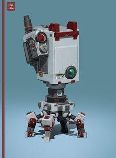 ArtStation - Bots, Tobias Pearce