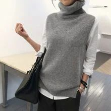 - Turtleneck Knit Vest - Turtleneck Knit Vest History of Knitting String rotating, weaving and sewing jobs such as for instance BC. Sleeveless Turtleneck Outfit, Knit Fashion, Fashion Outfits, Long Sweaters For Women, Looks Street Style, Knit Vest, Sweater Vests, Crochet Vests, Knit Crochet