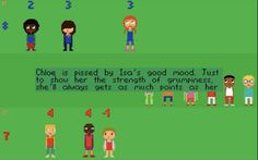 Tiny Soccer Manager Stories - Really really cute game where you have to sort characters into soccer teams that have matching values.  Character values change with different variables so sorting them can be kind of difficult but it's worth it to watch the story unfold