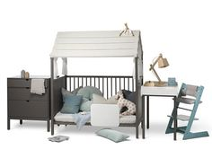 Muebles modulares para niños, Stokke® Home http://www.mamidecora.com/muebles-infantiles-stokke-home.html