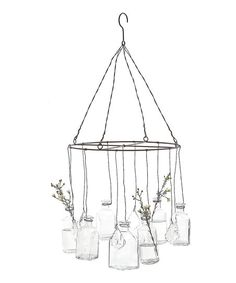 Wire Hanging Glass-Vase | zulily