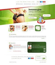 Projekt strony internetowej Dietetyka.  #diet_website #health_website #sport_website  http://www.webmedio.pl/