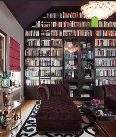 Bookcase, Chaise