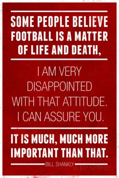 Bill Shankly Football Quote Sports Poster Poster at AllPosters.com
