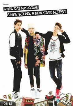 MinHyun, Ren and Aron