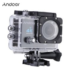 Andoer Q3H 170 Degree Wide Angle 4K Ultra HD Wifi Action Camera