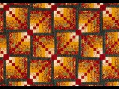 Log Cabin Sugar & Spice video by Sharlene Jorgenson Quilting For Beginners, Quilting Tutorials, Quilting Ideas, Wedding Ring Quilt, Log Cabin Quilts, Antique Quilts, Sugar And Spice, Quilt Blocks, Heartland