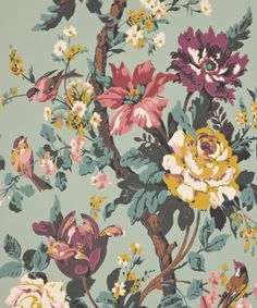 kristina liberty print has been adapted from an archive document within a series of exquisite hand painted artworks created for liberty in the 1920s and '30s. these sumptuous tree of life designs were used for various textiles including cushions, throws and kimonos. this print embodies the cinema room in the cabinet house and was suitably selected for the collection by celebrated actor, sir roger moore. pricing: please note, all wallpaper is priced per roll collection the chesham cabinet…