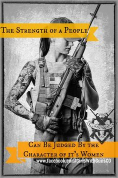 Guns firearms women's strength