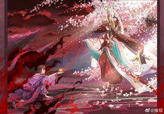 Anime Girl Kimono, Victim Quotes, Heian Period, Anime Couples, Anime Art, Video Games, Fan Art, Ship, Drawings