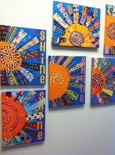 41 Trendy Collaborative Art Projects For Kids Middle School Classroom Art Projects, School Art Projects, Art Classroom, Children Art Projects, Group Art Projects, Summer Art Projects, Class Projects, Club D'art, Art Club