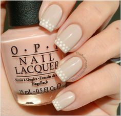 Gorgeous alternative to French manicure. Found it on the polished perfectionist blog.