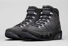 The Nike Air Jordan 9 Anthracite launches this week.  http://ift.tt/1MXNREq