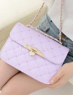 Pretty PU Leather Shoulder Bag For Women - Milanoo.com