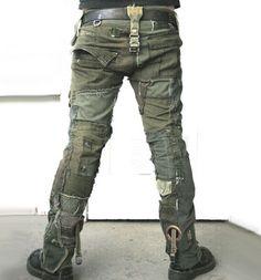 Bone Black Army Pants | Delicious Boutique