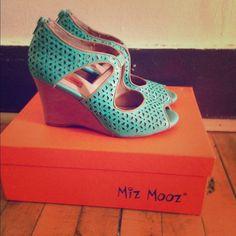 MIZ MOOZ TAMRYN WEDGE Like new Miz Mooze TAMRYN wedge size 6 US. Worn only once. Comes with box. Miz Mooz Shoes Heels
