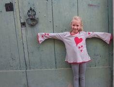 Bio - Herzen Liebe Shirt  von GinkgoLife auf DaWanda.com
