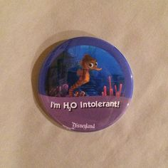 I'm H2O Intolerant 3 Choices Celebration by AddiesButtonCorner