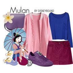 Disney Bound - Mulan