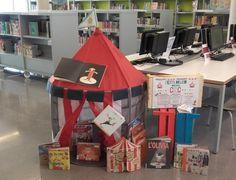 Ja s'apropa el circ! El 4, 5 i 6 de juliol a la tarda a la Biblioteca Municipal L'Ateneu d'#esparreguera muntarem un circ! #quèfemalesbiblios