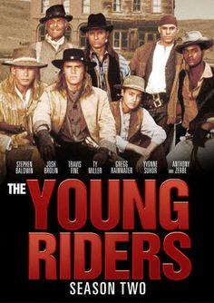 The Young Riders - Season 2 (4-DVD) (1990) - Television on Starring Anthony Zerbe, Josh Brolin, Stephen Baldwin, Travis Fine, Ty Miller, Yvonne Suhor & Gregg Rainwater; TGG Direct $14.98 on OLDIES.com