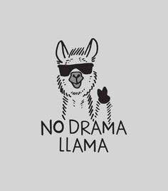 Save the drama for your lama! I love the drama lama Save the drama for your lama! I love the drama lama Alpacas, Lama Animal, Me Quotes, No Drama Quotes, Quotes About Drama, Quotes About Peace, Shirt Quotes, Funny Quotes About Life, Humor Quotes