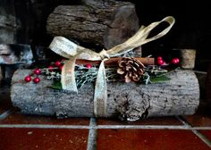 Our Yule log traditions. These are fun to make and are nice gifts for neighbors and friends.