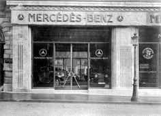 Vintage Mercedes Benz Dealership