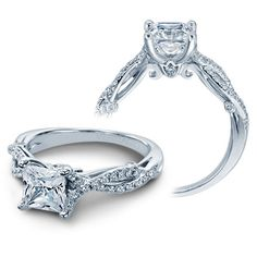 Verragio Insignia Diamond Engagement Ring Setting 7050 | Rogers & Hollands - Ashcroft & Oak