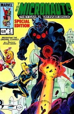 micronauts comic book covers - Google Search