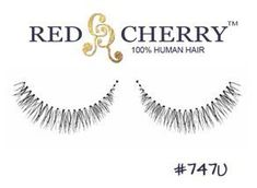 df375c9feea 747U Strip False Eyelashes by Red Cherry 6 Pairs * Read more at the image  link