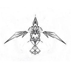 A geometric eagle for fun. Jaktattoos.tumblr.com #jakrapmu… | Flickr