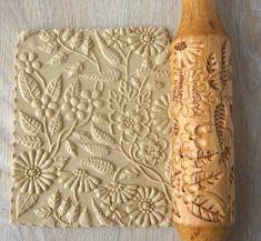 Pottery Handbuilding, Ceramic Tools, Salt Dough, Pretty Cakes, Flower Patterns, Cookie Decorating, Diy Art, Food Art, Window Boxes