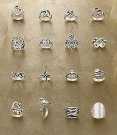 James Avery ring may be super expensive but they are super cute. I would like to have at least one but I would prefer the bracelet.