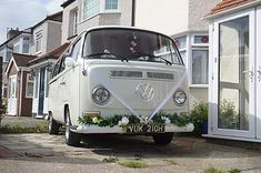 Wedding Car Sidcup | The White Van Wedding Company | Kent Wedding Vans, Wedding Car Hire, Wedding Company, Court Weddings, Preston Court, Car Cost, Campervan Hire, London Bride, Quirky Wedding