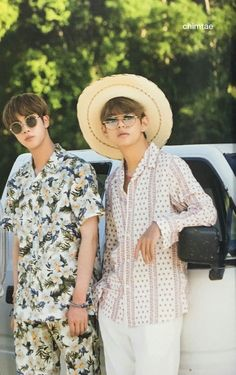 Taehyung & Jin  / Bts summer package