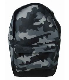 This Grey Camouflage Backpack features adjustable padded straps, one main zip closing storage compartment and a handy front pocket. Free UK delivery available. Camouflage Backpack, Army Camouflage, Childrens Bedroom Accessories, School Bags For Girls, Rucksack Backpack, Girl Backpacks, Herschel Heritage Backpack, Zipper Bags, Backpacker
