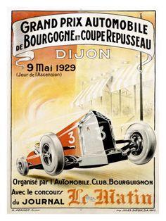 Vintage Race Posters,