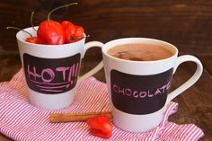 Spicy Mayan Hot Chocolate with Red Savina Habanero Peppers