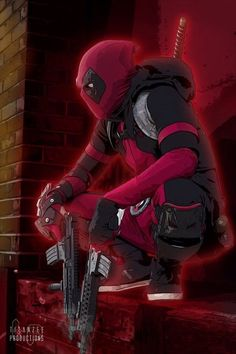 Deadpool- maybe a more casual cosplay Comic Book Characters, Marvel Characters, Comic Character, Comic Books, Deadpool Y Spiderman, Deadpool Love, Deadpool Stuff, Deadpool Chibi, Deadpool Pictures