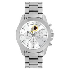 Women's Game Time NFL Knockout Sports Watch - Silver -