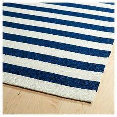 Kaleen Rugs Escape Stripes Indoor/Outdoor Area Rug Navy (2'x3') : Target