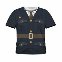 Undercover Police Cop Festival Homme Adultes T Shirt