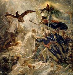 Anne-Louis Girodet de Roucy-Trioson - L`Apotheose des Heros français morts pour la patrie pendant la guerre de la Liberté.