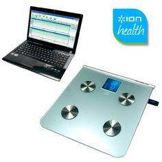 Báscula digital de baño USB Scale de Ion Health | Tecniac