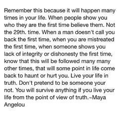 Real Talk from a Queen....take heed...