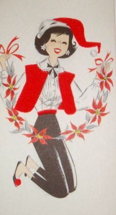60's Christmas Card
