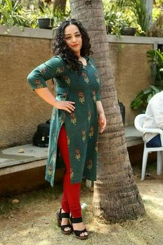 Plus Size Women S Bamboo Clothing Plus Size Legging Outfits, Plus Size Leggings, Plus Size Outfits, Woman Outfits, Dress Outfits, Nithya Menen, How To Wear Leggings, Curvy Dress, Beautiful Indian Actress